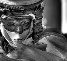 Venice - Carnival Mask  2011....01 - B&W by paolo1955
