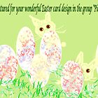 Feature banner for best Easter cards by AndreaFettweis