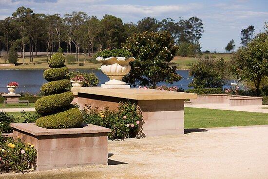 Formal Garden - Hunter Valley Gardens Series by reflector