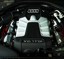 Audi A6 3.0 V6 TFSI Engine by AndrewBerry