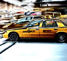 NYC Cab by JackParis