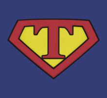 SUPER T Logo Shield by Adam Campen