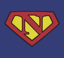 SUPER N Logo Shield by Adam Campen