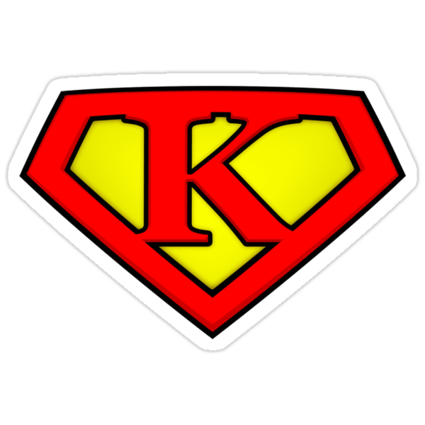 SUPER K Logo Shield by Adam Campen