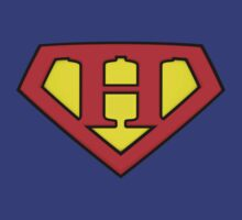SUPER H Logo Shield by Adam Campen
