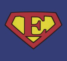 SUPER E Logo Shield by adamcampen