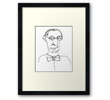 coke bottle glasses Framed Print