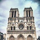 Notre Dame in Paris, France by Giovanni Gagliardi