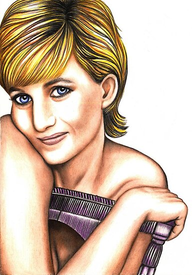 Diana Spencer by Margaret Sanderson