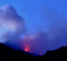 Etna eruption: april 10, 2011 by Andrea Rapisarda