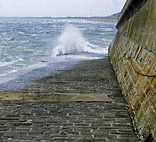 Slipway Splash, Bridlington Harbour by Rod Johnson