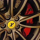 Ferrari - Wheel detail by TigerOPC
