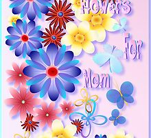 Flowers For Mom - pink by Lotacats