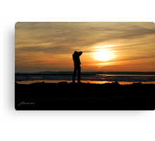 Catching Some Rays Canvas Print