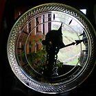 Through the glass clock by Dulcina