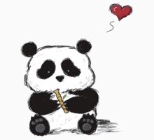Panda Love Bamboo by InkSpot