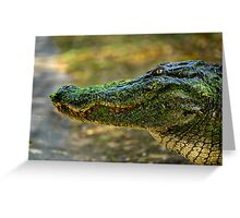 Swamp Monster Greeting Card