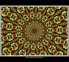Hens & Chickens Kaleidoscope #1 by Rose Santuci-Sofranko
