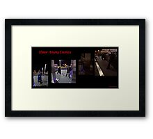 The Hunter and the Hunted - Honor Among Enemies Framed Print