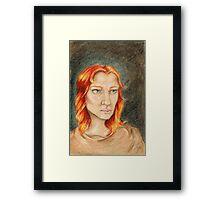 Boudicca Framed Print