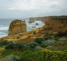 Twelve Apostles in November by Alison Murphy