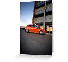 Fiat Punto Greeting Card