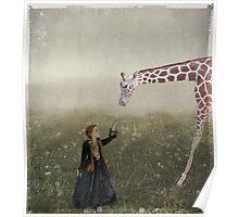 Emily's Giraffe Poster