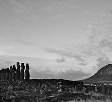 once upon a time in Easter Island by Francisco Vasconcellos