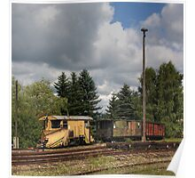 Cranzahl Station - The Snowplow Poster