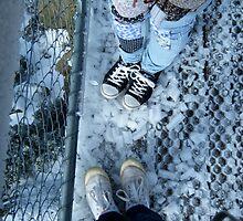 Frozen Feet In Frozen Shoes by slkuskopf