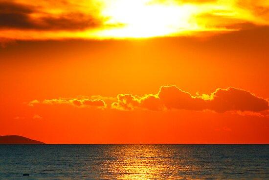 Mystic sunset - Zadar, Croatia by Calin Lapugean