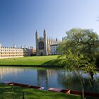 Kings College in Spring by Robert Ellis