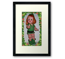 "My 1958 Arranbee ""Lil Imp"" Doll Framed Print"