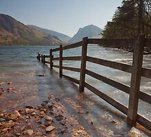 Fence, Buttermere. by Nick Atkin
