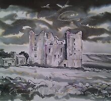 'Bolton Castle, Wensleydale'  by Martin Williamson (©cobbybrook)
