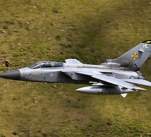 Panavia Tornado GR4 ZE983 low flying by Peter Talbot
