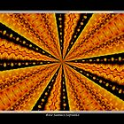 Marigolds Kaleidoscope #1 by Rose Santuci-Sofranko
