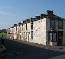 Burnley Terraces by Katy  Fryd
