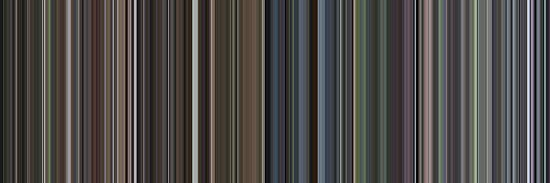 Moviebarcode: Requiem for a Dream (2000) [Simplified Colors] by moviebarcode