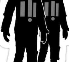 Cybermen Silhouette Sticker