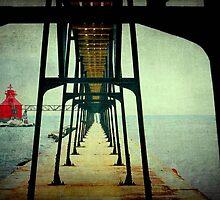 Sturgeon Bay Canal North Pierhead Lighthouse...USA ©  by Dawn M. Becker