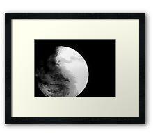 04-11-11: Pixel Planet Framed Print
