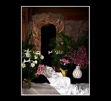 Easter - Empty tomb by Rose Santuci-Sofranko