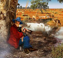 Waltzing Matilda Without the Words by Penny Alexander