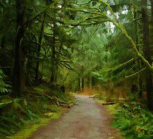 A Muddy East Canyon Trail by Michael Garson