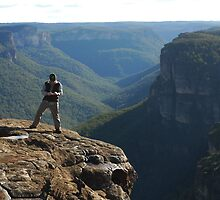 Man on a Mission, Blue Mountains by Steve Callaghan