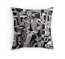 140 - JACQUES NAYRAL - DAVE EDWARDS - INK - 1987 Throw Pillow