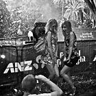 Ladies under snow machine by Distan