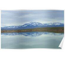 Unity Lake Reflection Poster