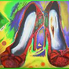 Red Shoes Out by Helena Wilsen - Saunders